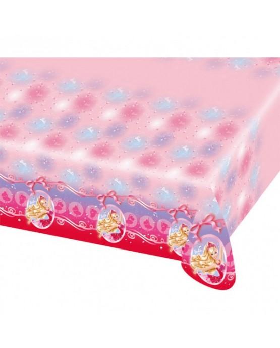 Obrus Barbie Pink Shoes 120x180cm
