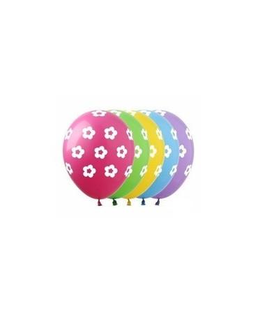 Latexové balóny kvety 30cm 10ks