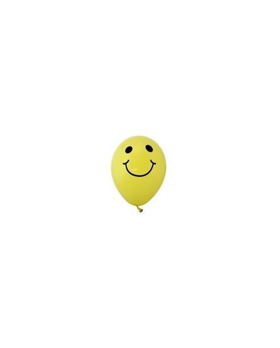 Latexové balóniky Smajlík 10ks 30cm/P37