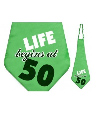 Kravata- Life begins at 50