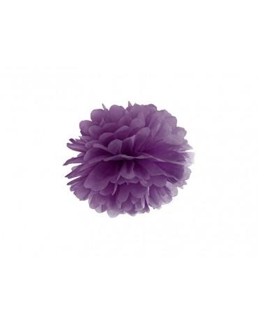 Pompón -tmavofialový 25cm