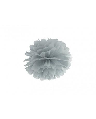 Pompón -šedý 25cm