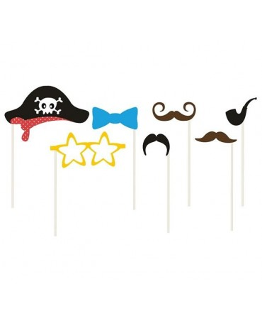 Rekvizity na fotenie -Pirát 7ks
