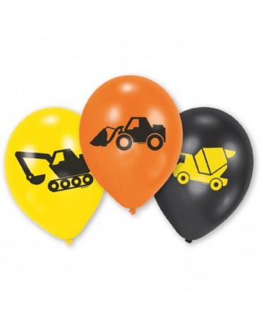 "Latexové balóny Stavebníctvo 10""  10ks"