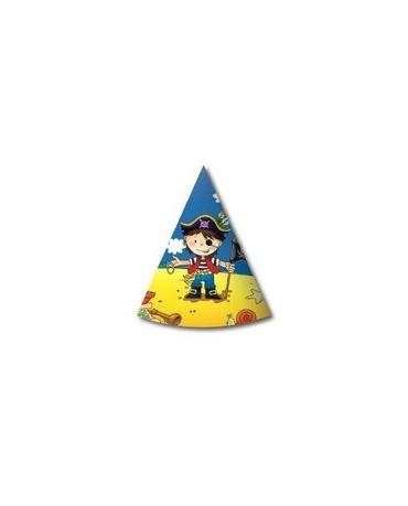 Klobúčik Malí piráti 2  6ks