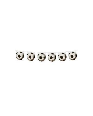 Girlanda futbalová lopta 3,1m