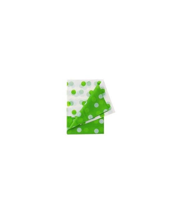 Obrus -zelené bodky 128x181cm 1ks/P110