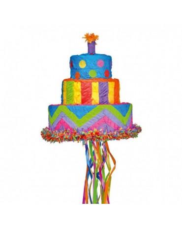 Piňata narodeninová torta