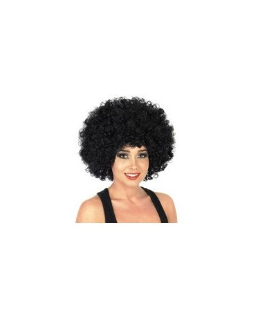 Parochňa - čierne  mega afro vlasy