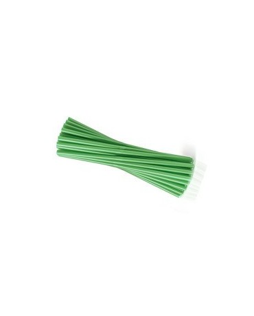 Slamky - zelené 25 cm - 20ks