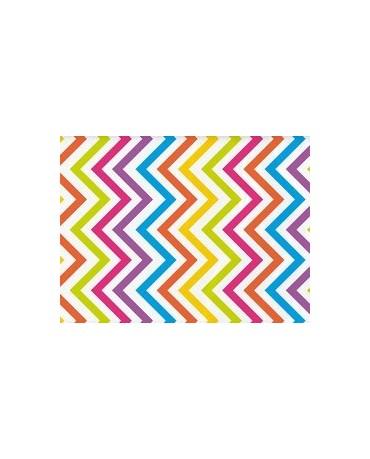 Obrus farebné vlnky 274x137cm