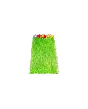 Havajská sukňa - zelená- veľkosť  S