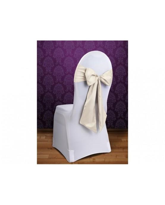 Šerpa na stoličku -krémová 10ks