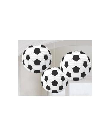 Dekorácia lampión- futbalová lopta  3ks