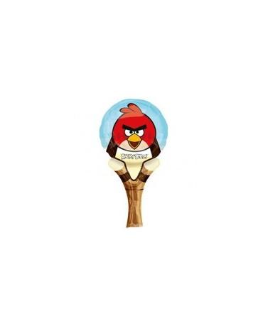 Fóliový balónik Angry Birds- červený 31cm 1ks