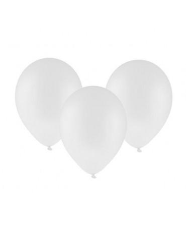"""Latexové balóny pastelové -biele 12"""" 100ks"""