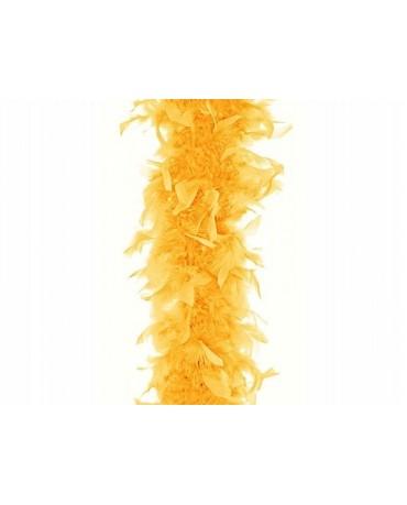 Pierkové BOA - žlté 180cm 1ks