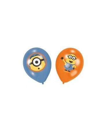 Latexové balóny Mimoni-27,9cm 6ks