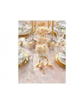 organzy a iné dekorácie na stôl
