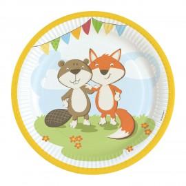 Líška a bobor