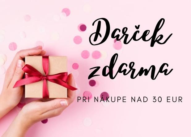 darček nad 30 EUR
